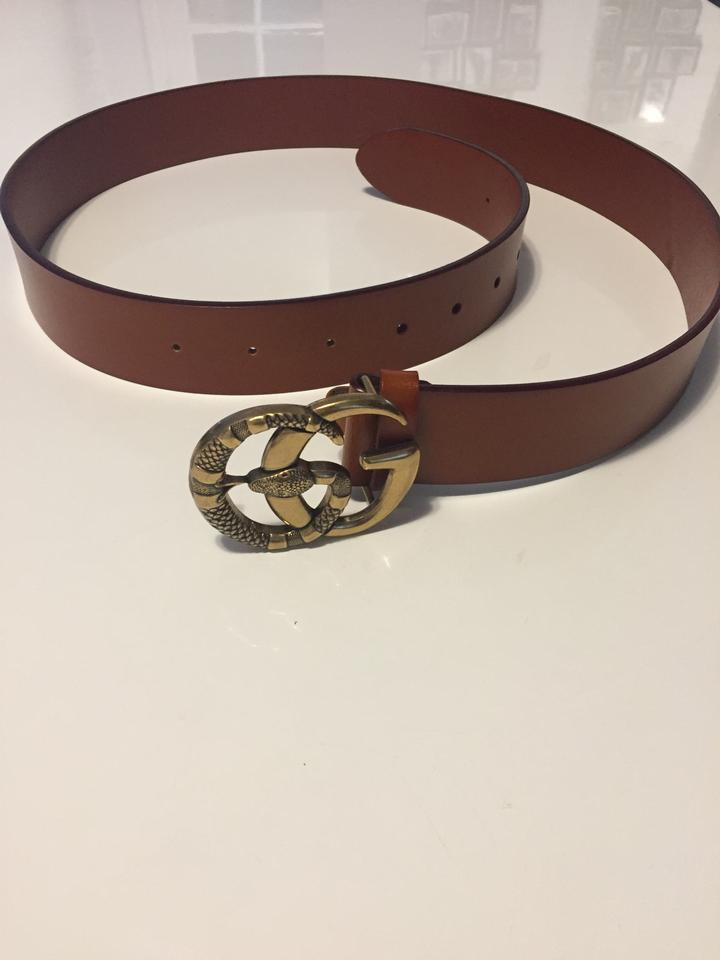 0ba5bfcbe57 Gucci Double GG Snake Belt 95-38 NEW WITHOUT TAG Image 8. 123456789. 1 ∕ 9