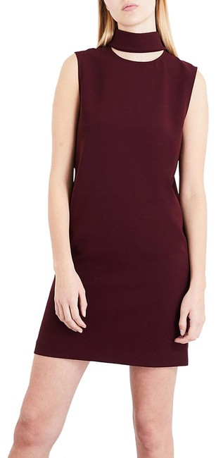 Preload https://img-static.tradesy.com/item/25245476/theory-womens-crepe-red-slit-collar-dark-currant-new-workoffice-dress-size-8-m-0-1-650-650.jpg