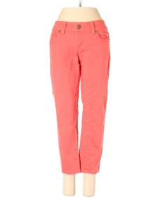Seven7 Mid Rise Crop Colored Skinny Jeans