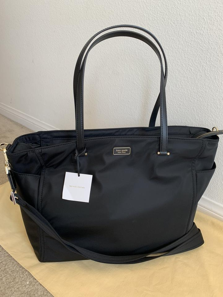 Kate Spade Dawn Wkru5915 Black Nylon Diaper Bag 43 Off Retail