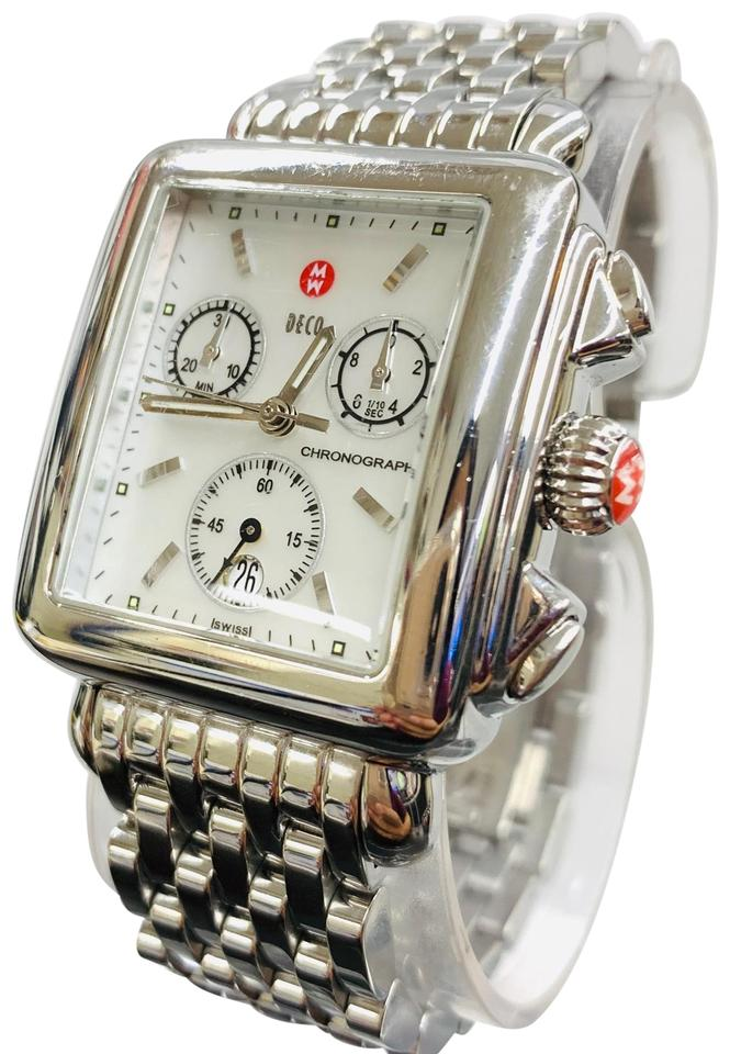 bfc0efd5a Michele Michele Michele Deco, MW06A00, Ladies, Chronograph, Stainless Steel  Watch , Mother ...
