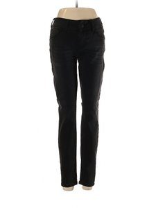Seven7 Low Rise Mid Rise Skinny Jeans-Dark Rinse