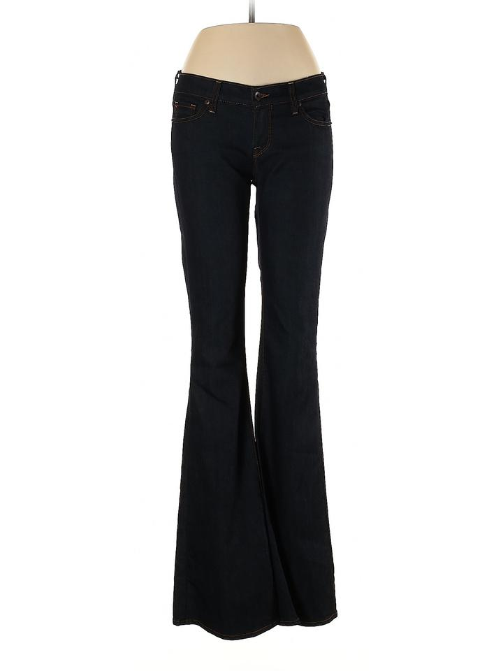 new items shop for best detailing Lucky Brand Blue Dark Rinse Mid Flare Leg Jeans Size 29 (6, M)