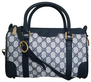 43049186554 Gucci Vintage Vintage Vintage Vintage Purse Boston Satchel in Blue