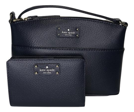 Preload https://img-static.tradesy.com/item/25246021/kate-spade-grove-street-millie-and-matching-tellie-wallet-blazer-blue-leather-cross-body-bag-0-0-540-540.jpg