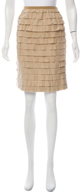 Item - Tan Tiered Skirt Size 10 (M, 31)