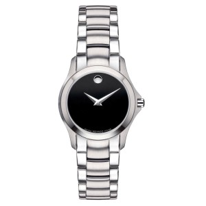 Movado Masino Movado Dot Marks Stainless Steel Quartz Round Men's Watch