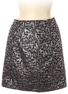 Bensoni Mini Skirt Silver, Black