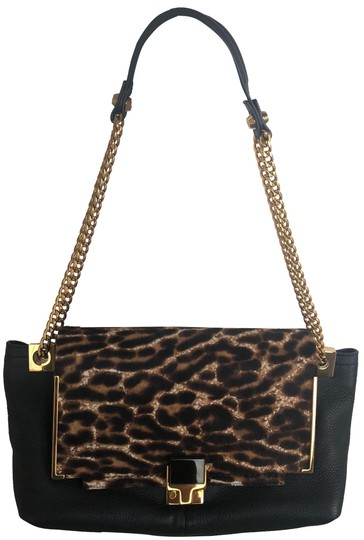 Preload https://img-static.tradesy.com/item/25247027/lanvin-black-leopard-print-and-yellow-gold-calf-hair-calf-skin-shoulder-bag-0-1-540-540.jpg