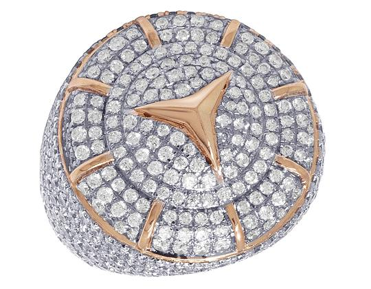 Preload https://img-static.tradesy.com/item/25247134/jewelry-unlimited-10k-rose-gold-real-diamond-mercedes-pinky-65-ct-26mm-ring-0-0-540-540.jpg