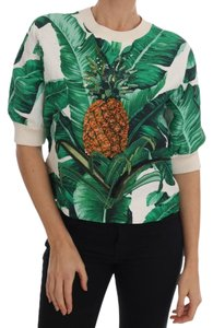 005d5afb Added to Shopping Bag. Dolce&Gabbana Sweater. Dolce&Gabbana Pineapple  Banana Sequins ...