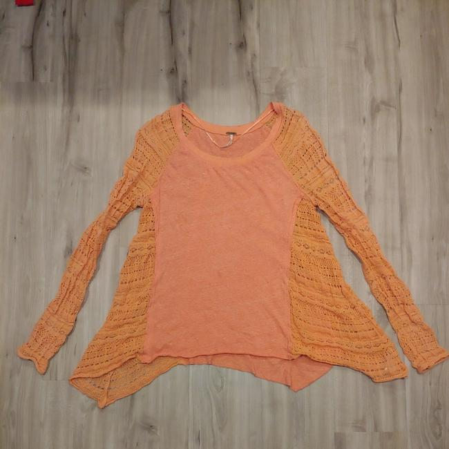 Preload https://img-static.tradesy.com/item/25247402/free-people-coral-66170-tunic-size-6-s-0-1-650-650.jpg