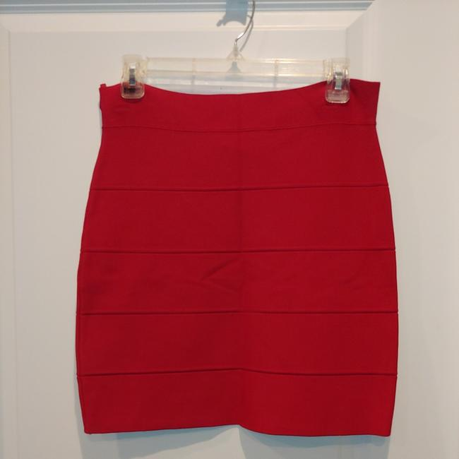 Item - Red Rn 80734 Skirt Size 12 (L, 32, 33)