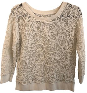 Nordstrom Lace Overlay Sweater