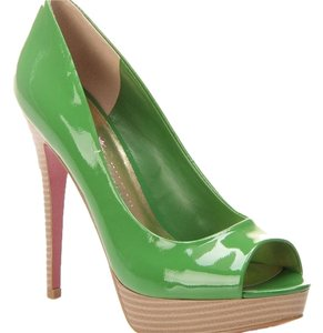 Paris Hilton Green Pumps