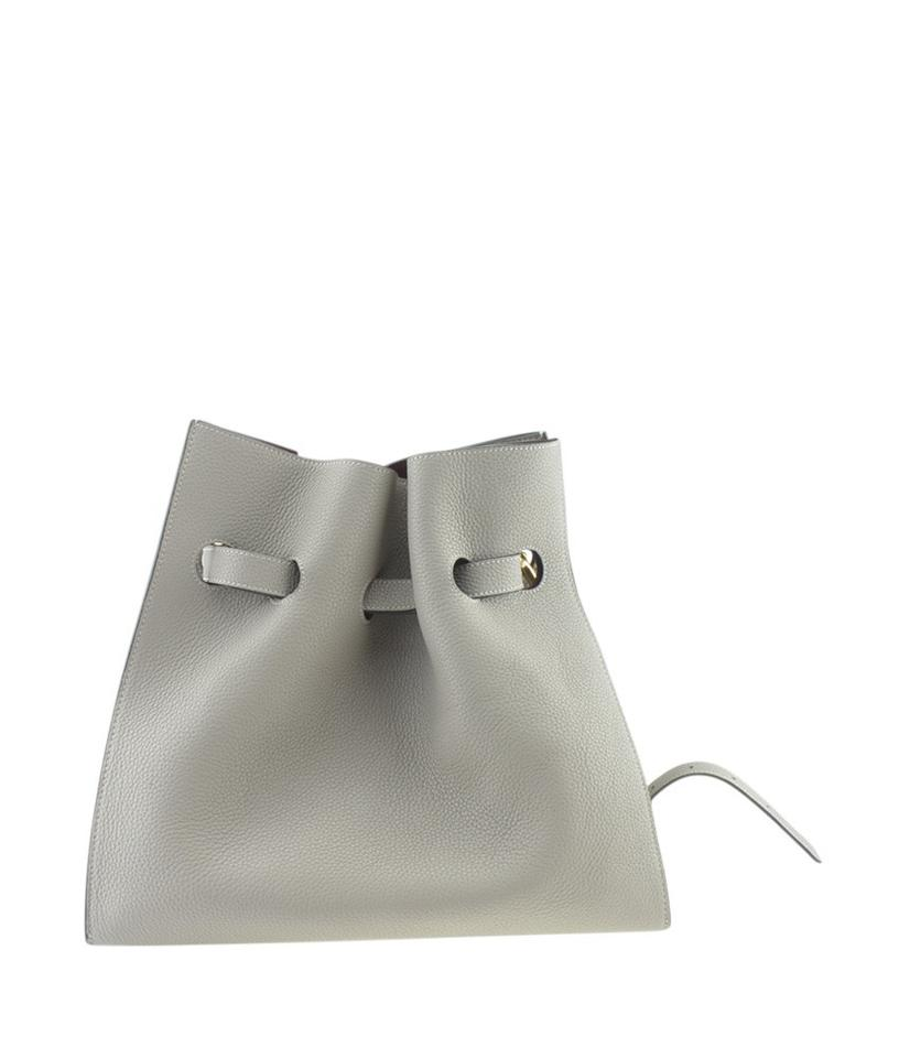 c5fca25556a Mulberry Small Tyndale Solid (171056) Grey Leather Tote - Tradesy