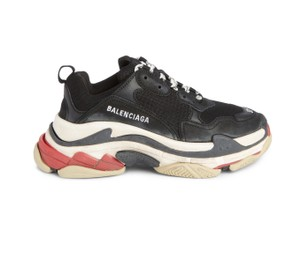 Balenciaga Vintage Style Fashion black/white/red Athletic