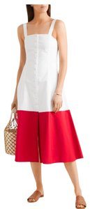 red/white Maxi Dress by STAUD