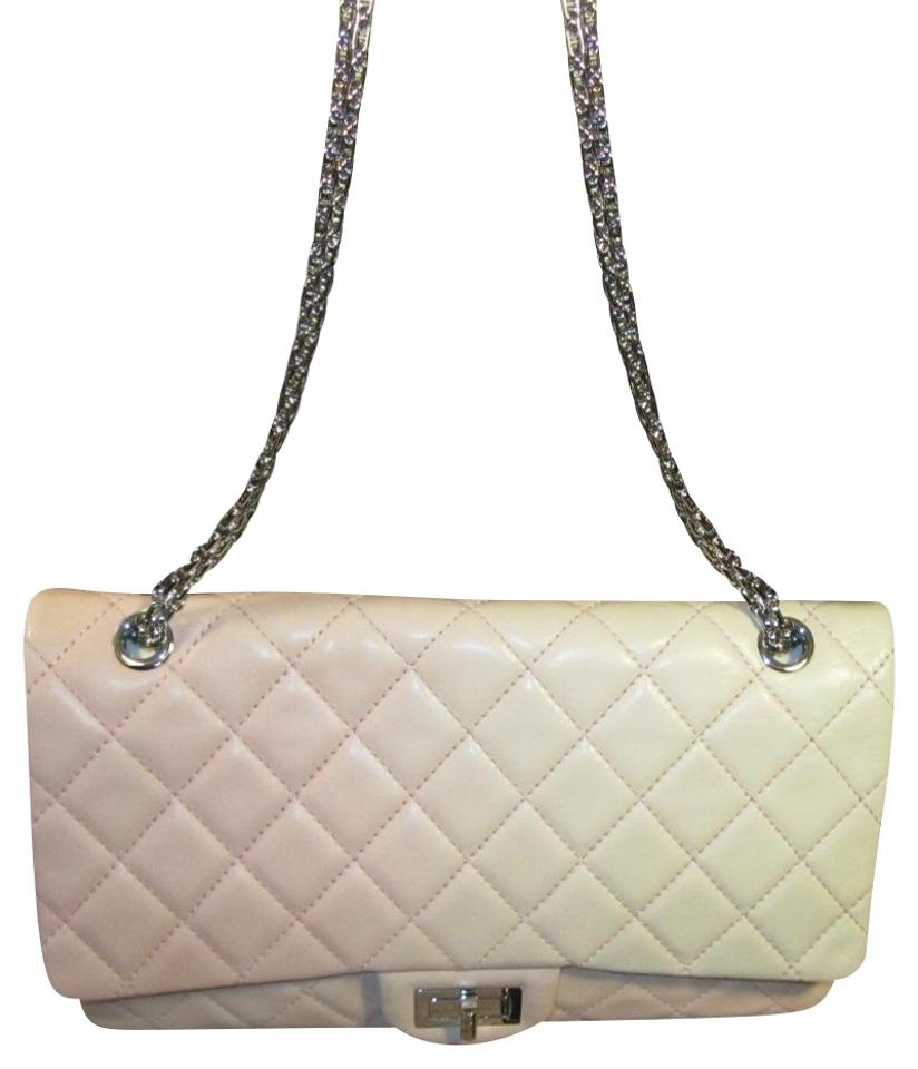 9b0abeb2dd29 Chanel 2.55 Reissue Lambskin Quilted 227 Flap Pink Degrade Cross ...