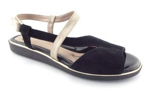 BeautiFeel Strap Demi Kali Elsie Quinn Black Sandals