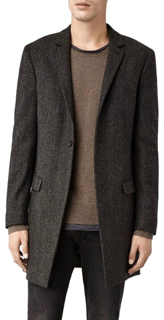 Preload https://img-static.tradesy.com/item/25248809/allsaints-grey-men-s-wool-toma-charcoalgrey-new-with-tags-coat-size-os-one-size-0-1-650-650.jpg