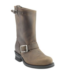 Frye Mid - Calf Leather Brown Boots