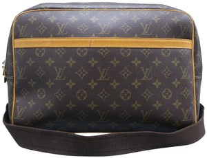 Louis Vuitton Lv Reporter Monogram Canvas brown Messenger Bag
