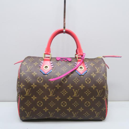 Louis Vuitton Lv Speedy 30 Monogram Tote in Brown Image 1