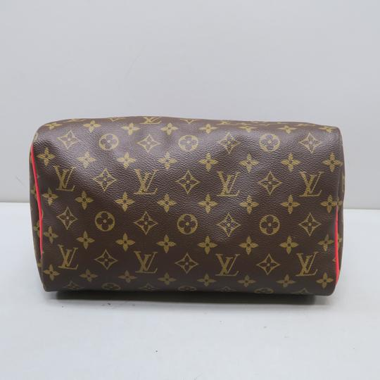 Louis Vuitton Lv Speedy 30 Monogram Tote in Brown Image 3