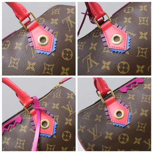 Louis Vuitton Lv Speedy 30 Monogram Tote in Brown Image 6