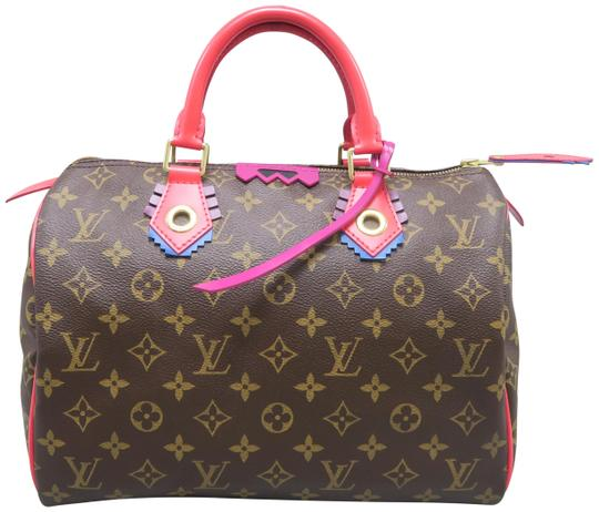 Louis Vuitton Lv Speedy 30 Monogram Tote in Brown Image 0
