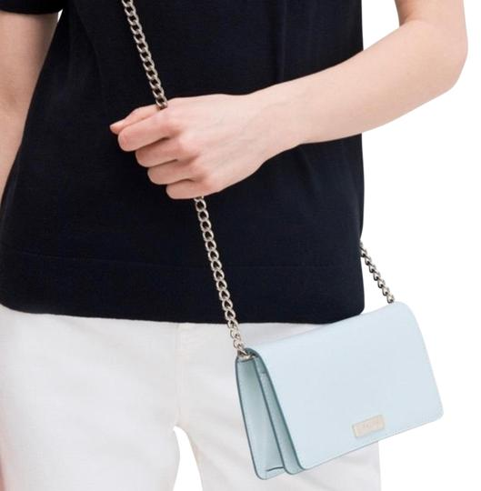 Preload https://img-static.tradesy.com/item/25248872/kate-spade-chain-foldover-light-greengold-smooth-leather-cross-body-bag-0-1-540-540.jpg