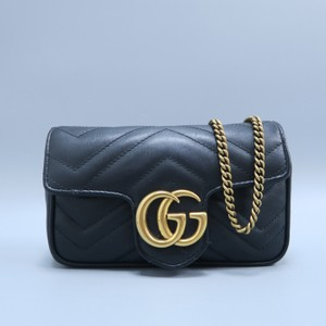 9d660c5142aa Added to Shopping Bag. Gucci Marmont Gg Mini Shoulder Bag. Gucci Marmont  Super Mini Gg Matelassé ...
