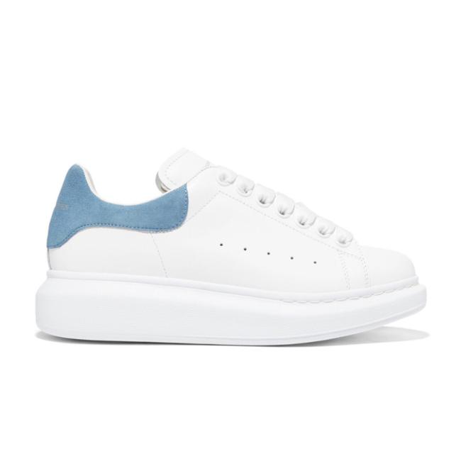 Alexander McQueen Oversized Leather Sneakers Size EU 39 (Approx. US 9) Regular (M, B) Alexander McQueen Oversized Leather Sneakers Size EU 39 (Approx. US 9) Regular (M, B) Image 1