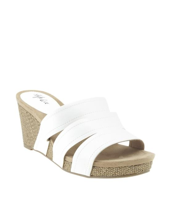 Item - White Sonome Crisscross Leather (168365) Wedges Size US 6.5 Regular (M, B)