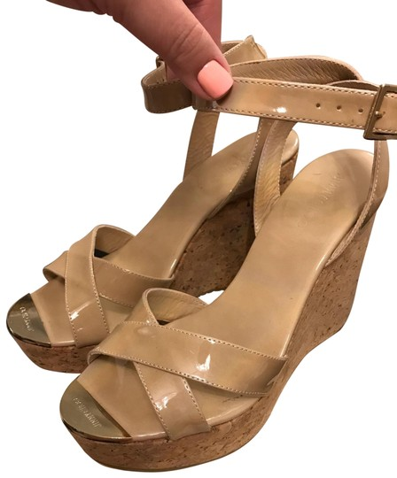 Preload https://img-static.tradesy.com/item/25249669/jimmy-choo-nude-patent-cork-wedges-size-eu-39-approx-us-9-regular-m-b-0-1-540-540.jpg