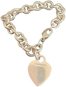 Tiffany & Co. Tiffany & Co. Heart Charm Bracelet