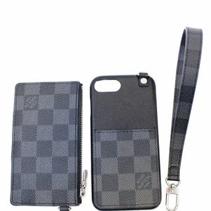 Louis Vuitton Louis Vuitton Damier Graphite Playphone Iphone 8 Cover w/ Coin Case