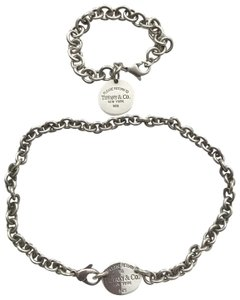 Tiffany & Co. Return to Bracelet and necklace