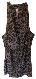 Sweet Pea by Stacy Frati gray, light brown Halter Top