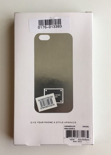 Michael Kors Silver & Crystal iPhone 6 Snap-On Case - New in Box (NIB) Image 1