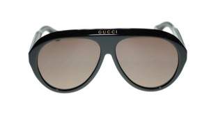 726f178b12a Gucci Gucci GG0479S 001 Black Frame Brown Lens Sunglasses Authentic