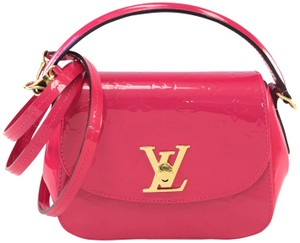 Louis Vuitton Monogram Leather Vernis Shoulder Bag