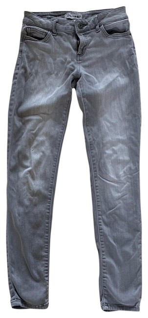 Item - Gray Florence Like New Skinny Jeans Size 2 (XS, 26)