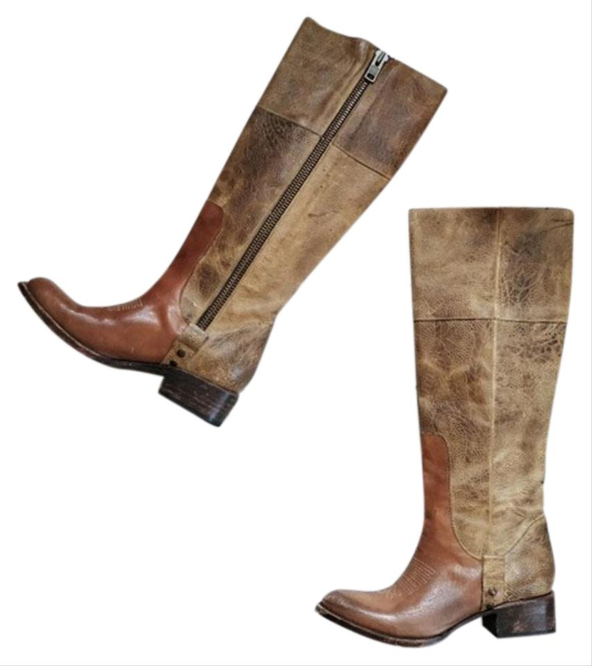 e121eb203d3 FREEBIRD by Steven Brown Wrang Knee-high Distressed Boots/Booties Size US 7  Regular (M, B) 59% off retail