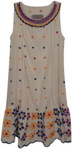 Double D Ranchwear short dress White + Embroidered Eyelet New on Tradesy