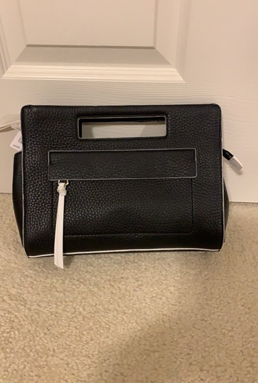 Coach Black White Clutch Image 3