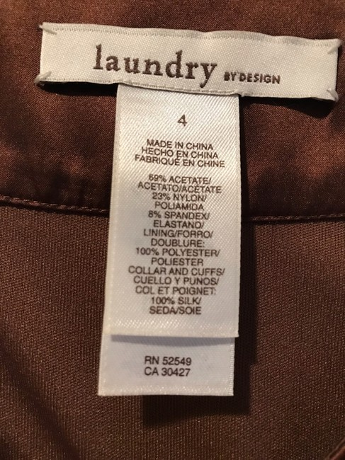 Laundry by Design short dress brown on Tradesy Image 2