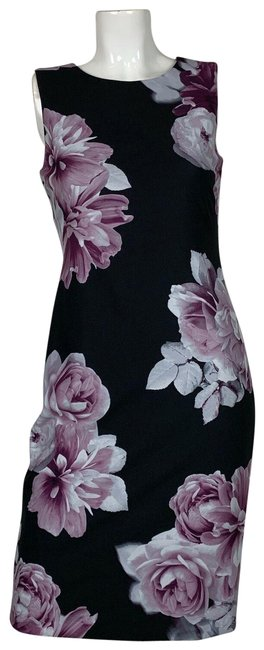Preload https://img-static.tradesy.com/item/25252717/calvin-klein-multicolor-sheath-floral-black-sleeveless-new-mid-length-workoffice-dress-size-6-s-0-1-650-650.jpg