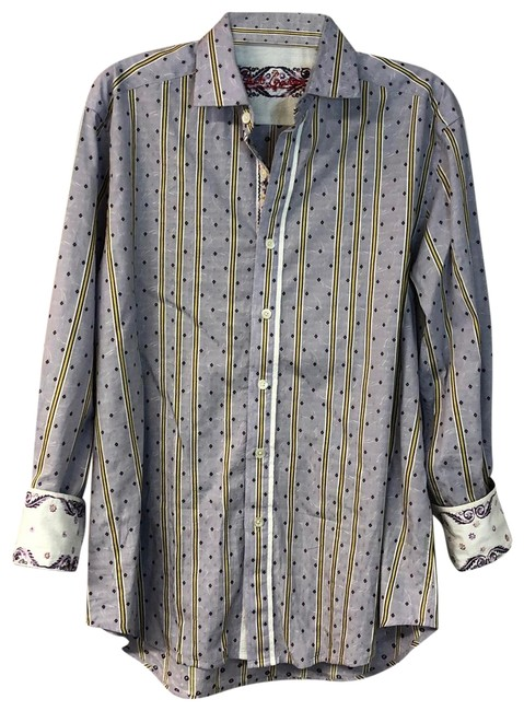 Preload https://img-static.tradesy.com/item/25252731/robert-graham-lavender-stripes-cotton-sport-shirt-l-button-down-top-size-12-l-0-2-650-650.jpg